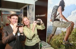 ACTB Josef Margreiter und Petra Stolba promoten Nature Watch