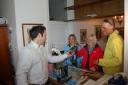 Rückgabe der Ferngläser im Grünwalderhof: Swarovski Optik EL und SLC