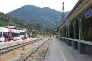 Karwendelbahn Innsbruck - Seefeld - Scharnitz - Mittenwald - München