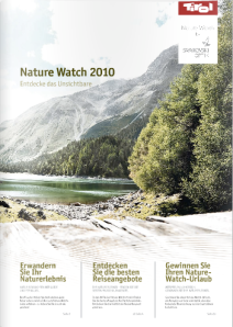 nature watch broschüre 2010