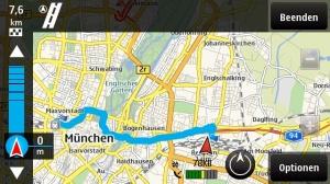 Fußgängernavigation auf Ovi Maps von Nokia