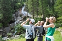 Wasserfallweg in Hintertux